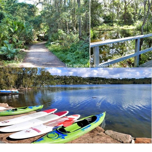3 Narra Lake paths