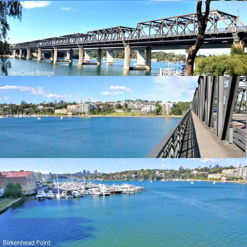 8 Iron Cove bridge