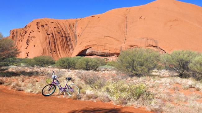 bike on path 2