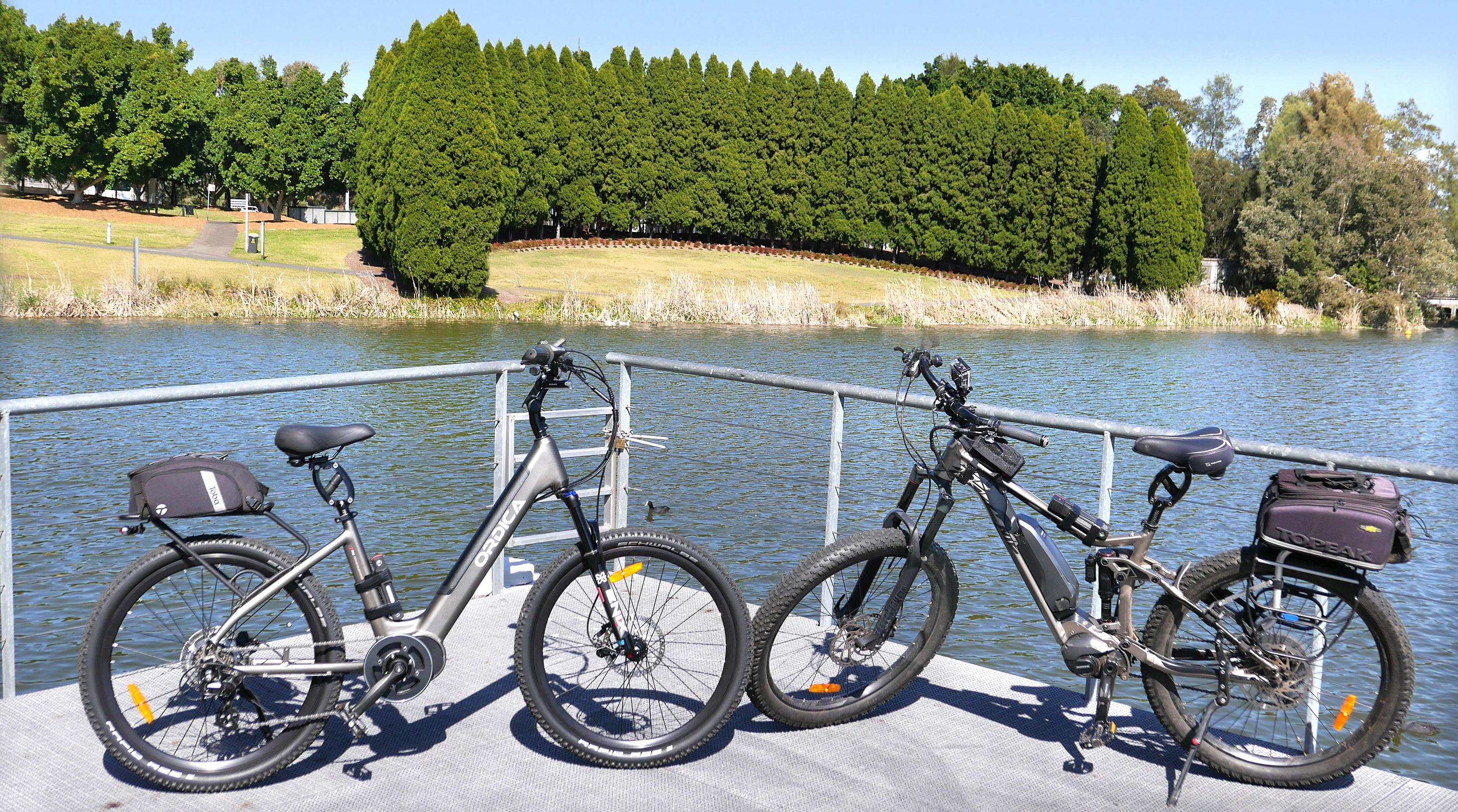 Twin Bikes Bicentennial Park 800px