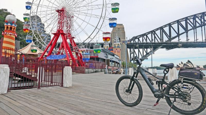 10 Luna Park wharf